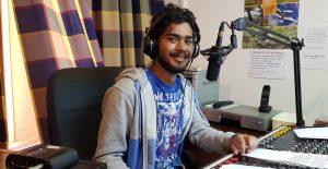Saint FM Staff Member Mikail Harris