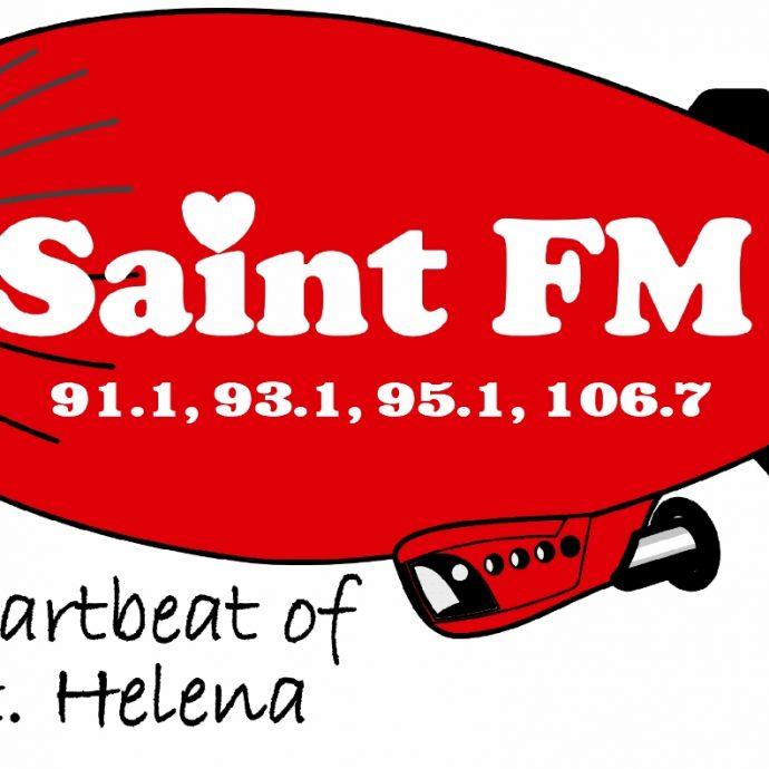 Saint FM Balloon Logo