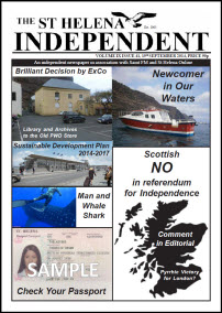 The St Helena Independent