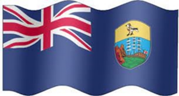 St Helena Flag (Wavy) 600 x